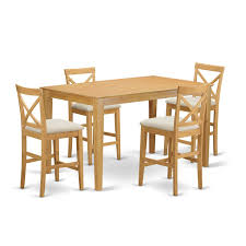 East West Furniture CAPB5H-OAK-C