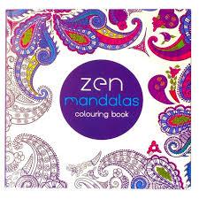 Zen Mandalas Adult Coloring Book Stress Relieving Patterns