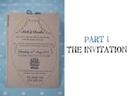 Do It Yourself Rustic Handmade Wedding Stationery Part 1