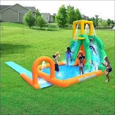 Walmart Blow Up Water Slides Pool Stuff Full Size Of Supplies 3 Foot Set Pools