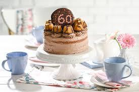 klassische geburtstags torte