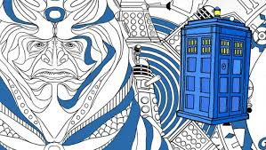 Get Ready For The Doctor Who Colouring Book App