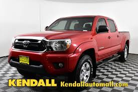 100 Used Toyota Tacoma Trucks For Sale PreOwned 2014 DBL CAB LB 4WD V6 Truck Crew Cab For