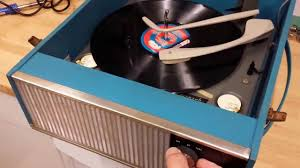 Magnavox Record Player Cabinet Astro Sonic by Vintage 1960 U0027s Ultra Record Player With Monarch Youtube