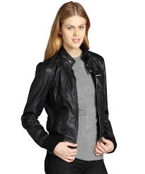 members only black quilted faux leather racer jacket bluefly com
