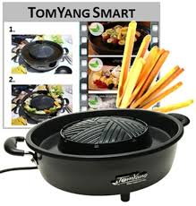 tomyang pot bbq barbecue thaï électrique amazon fr cuisine