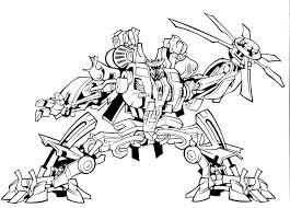 Bulkhead Transformer Coloring Page