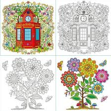 Princess Secret Garden Coloring Book Children Adult Relieve Stress Kill Time Graffiti Painting Drawing Antistress Books In From Office
