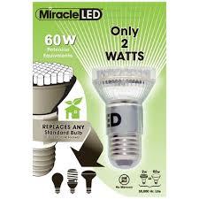 miracle led 60w 130 volt led light bulb wayfair