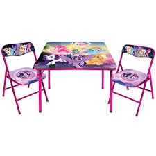 little pony table chair set
