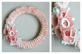 Cupcake Wrapper Wreath Craft Tutorial Moms Kids