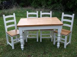 Painted Farmhouse Table And Chairs With Matching Sideboard ... Urban Farmhouse July 2008 Painted Kitchen Tables Delightful Chalk Table And Chairs Ding Rooms White Painted Ding Table And Chairs With Prayer Hand On Kitchen Ideas Beautiful Distressed Black Fniture Pating Wood The Ultimate Guide For Stunning What Kind Of Paint Do I Use That Types Paint When Creative Diy Hative 15 Tips Outdoor Family Hdyman Interiors By Color 7 Interior How To Your