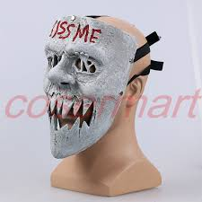 Halloween Purge Mask Uk by Aliexpress Com Buy The Purge 3 Masks Kiss Me Mask Cosplay