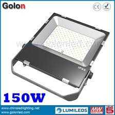 150w ultra slim led flood lighting factory price 3 5 years warranty