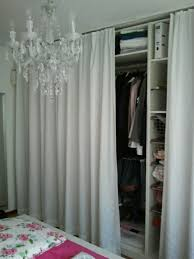 Ikea Curtain Wire Room Divider by Pax Wardrobe Curtain Google Search Brooklyn Closet Room