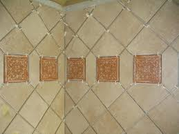 what is the proper way to install diagonal wall tile ceramic