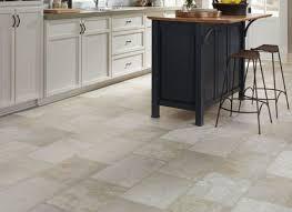 kitchen flooring travertine tile white grey floor splitface
