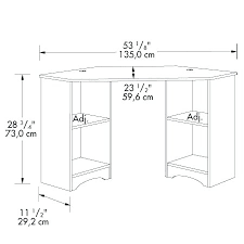Linnmon Corner Desk Dimensions by Desk Dimensions Standard Desk Chair Dimensions I53 For Trend Home