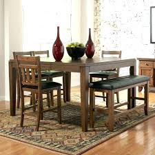 Counter Height Dining Table Sets With Bench Pub Residence Set Regard D Bar Cafe