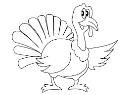 Free Turkey Coloring Pages For Kindergarten Ideas
