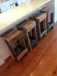 Wooden Pallet Stools