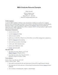 Sample Mba Application Resume Business School Resumes Best Collection View Larger Harvard
