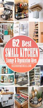 Small Kitchen Organizing Ideas 62 Best Small Kitchen Storage Organization Ideas For Instant