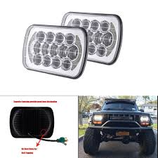Rectangle 5x7 Led Halo Headlight 7x6 Inch Truck Light High Low Beam ... Oracle 1416 Chevrolet Silverado Wpro Led Halo Rings Headlights Bulbs 0915 Dodge Ram Quad Lamp Headlight Build Hionlumens 12016 F250 F350 Lighting Spyder Halo Projector Lights Forum Chevy Enthusiasts 2008 Projector Hid Headli Youtube 1114 Ford F150 Lincoln Mark Lt Pair Of Bumper Ring Fog 2014 Sierra 1500 W Readylift Sst Leveling Kits Lift On 20x18 Wheels 092014 Raptor S3m Recon Package Smoked R0913rlp 2007 2013 Nnbs Gmc Truck Install 1215 Slight Bar Drl Tacomabeast Kit 32006 Square Outline Sold Out Back
