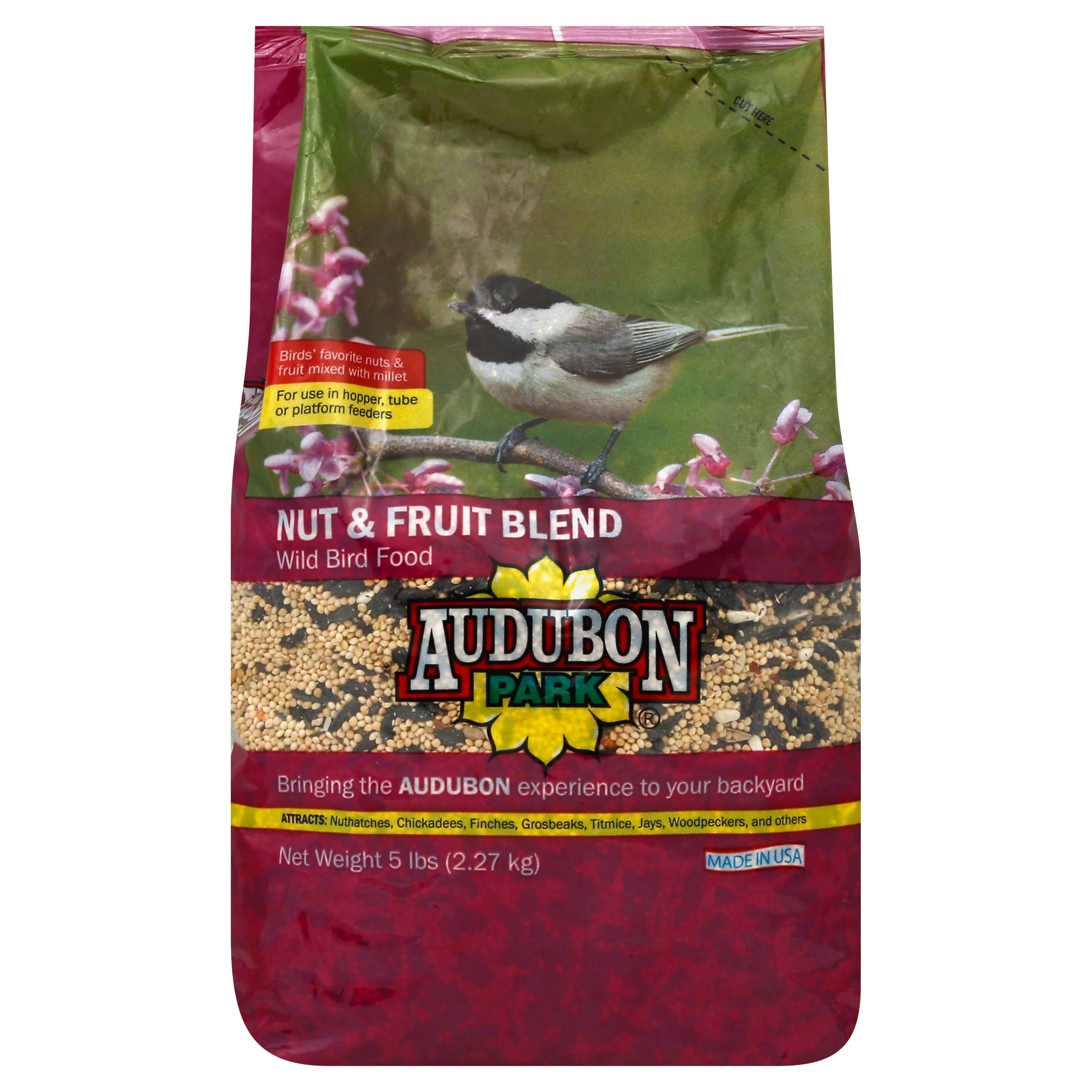 Audubon Park 12226 Wild Bird Food - Nut and Fruit Blend, 5lbs