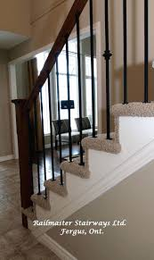 Banister Spindle Replacing Spindles And Banisters Replacing ... Diy How To Stain And Paint An Oak Banister Spindles Newel Remodelaholic Curved Staircase Remodel With New Handrail Stair Renovation Using Existing Post Replacing Wooden Balusters Wrought Iron Stairs How Replace Stair Spindles Easily Amusinghowto Model Replace Onwesome Images Best 25 For Stairs Ideas On Pinterest Iron Balusters Double Basket Baluster To On Tda Decorating And For
