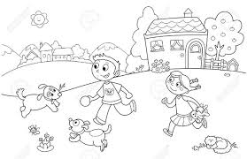 My Family Clipart Black And White