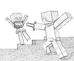 Minecraft Coloring Book Games Pages In Category Gianfreda