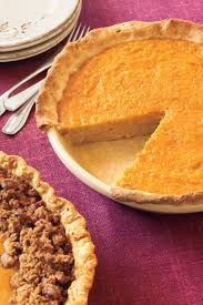 Pumpkin Praline Pie Cooks Illustrated by Splurge Worthy Thanksgiving Dessert Recipes Southern Living