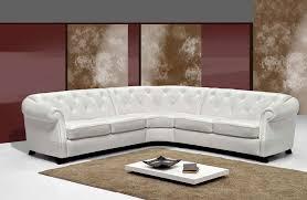 canape cuir angle canape angle en cuir italien blanc sofamobili