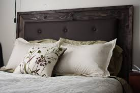 bedroom lovely diy upholstered headboard with wood frame ana