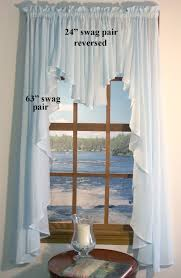 Cheap Waterfall Valance Curtains by Sea Glass Semi Sheer Valances Curtains Door Panels