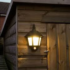 welcome wall light with pir