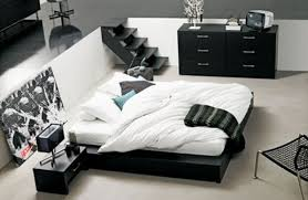 White And Black Bedding by Bedroom Extraordinary Design Ideas Of Awesome Bedroom With Black