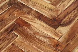 3x8 Acacia Herringbone Hardwood Floor Sample Natural
