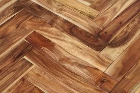 3x8 Acacia Herringbone Hardwood Floor Sample Natural