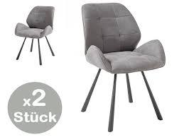 2er set alica stuhl esszimmerstuhl stühle esszimmerstühle