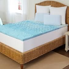 sleep by pure rest 1 1 2 inch marbleized gel memory foam 5 zone