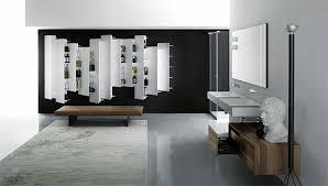 minimalistische badezimmer mit modernen badezimmermöbel