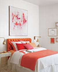 Coral Color Bedroom Accents by Best Coral Paint Colors