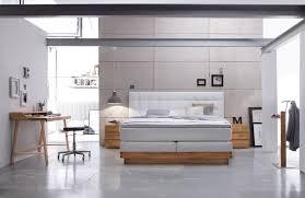 weiss einrichten schlafzimmer boxspringbett hasena massiva