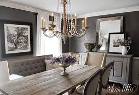 Living Room And Dining Ideas A Farmhouse Table Meets Classic Decor With This
