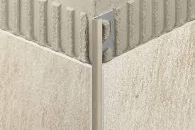 Tiling Inside Corners Backsplash by Schluter Rondec Edging U0026 Outside Wall Corners For Walls