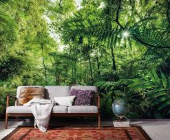 dschungel fototapeten exotische urwald tapeten inklusive