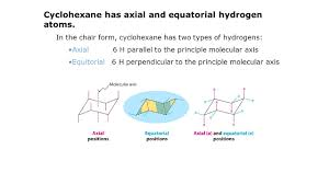 Chair Conformation Of Cyclohexane by The Properties Of The Cycloalkanes Differ From Those Of Their