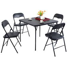100 Walmart Black Folding Chairs 5 Piece Card Table And Chair Set Com